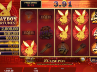 Playboy Fortunes — Microgaming